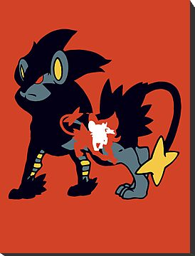 【8400+ views】Pokemon  Shinx>Luxio>Luxray by Ruo7in