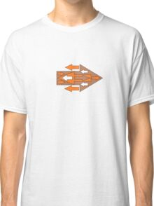 Arrow Abstract Coming & Going Classic T-Shirt