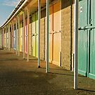 Beach chalets. by Kit347