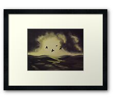 Murder on the Moor Framed Print