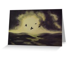Murder on the Moor Greeting Card