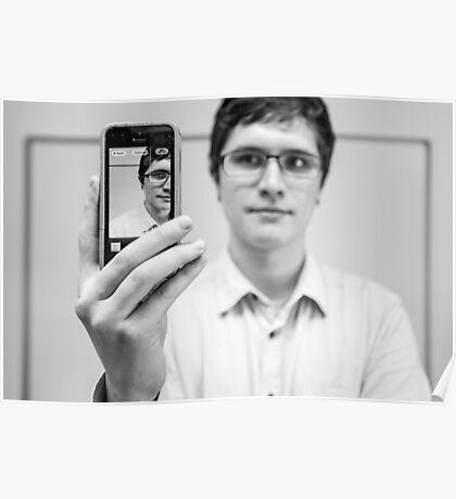Mobile Phone Portrait Poster