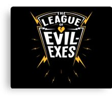 Scott Pilgrim - The League of Evil-Exes Canvas Print
