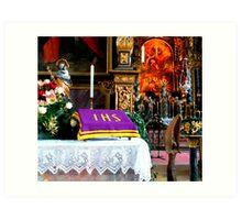 Pilgrimage church of the Assumption Art Print