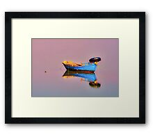 """From the shores of Time. . ."" Framed Print"