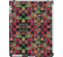colorful triangles  iPad Case/Skin
