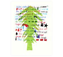Noël, Weihnacht, Christmas Art Print