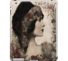 Vintage Beauty Ipad case iPad Case/Skin