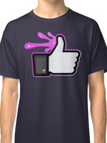 FACEBOOK X GHOSTBUSTERS (GB2 SLIMED) Classic T-Shirt