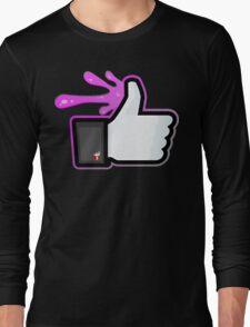 FACEBOOK X GHOSTBUSTERS (GB2 SLIMED) Long Sleeve T-Shirt