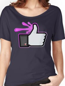 FACEBOOK X GHOSTBUSTERS (GB2 SLIMED) Women's Relaxed Fit T-Shirt