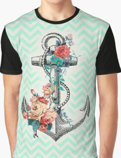 Mint Anchor Graphic T-Shirt