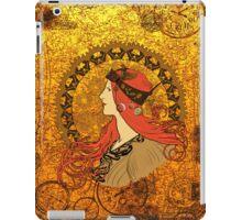 Steampunk Zodiac (Mucha Homage) iPad Case/Skin