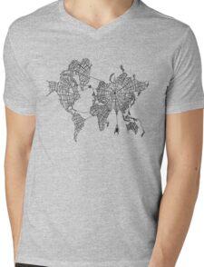 World Wide Web Mens V-Neck T-Shirt