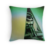 The Green Room Throw Pillow
