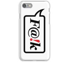 F@!k iPhone Case/Skin