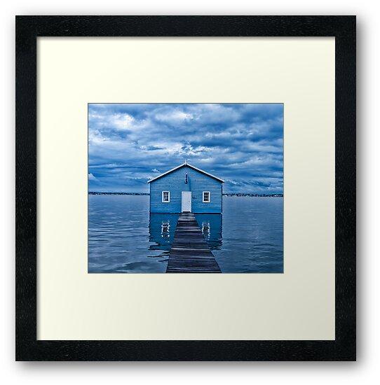 Crawley Edge Boatshed by Paul Pichugin