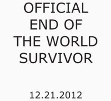 official end of the world survivor by yus41