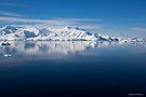 Reflecting on Antarctica 053 by Karl David Hill