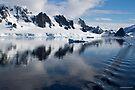 Reflecting on Antarctica 055 by Karl David Hill