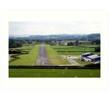 Welshpool Airport Final Approach Art Print