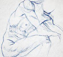 Male nude  by John Darren Sutton