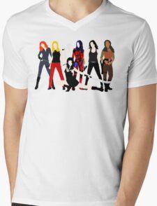 Women of the Whedonverse   Mens V-Neck T-Shirt