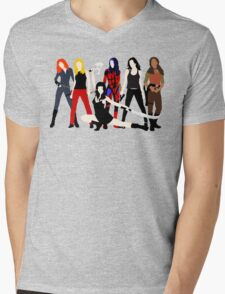 Women of the Whedonverse   Mens V-Neck T-Shirt