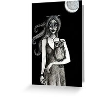 'Nocturnal' Greeting Card