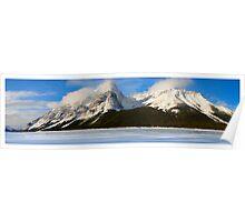 Panorama of a Lake Poster