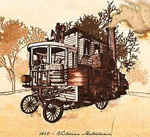 1862 Victorian Motorhome by Diego Verhagen