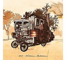 1862 Victorian Motorhome Photographic Print