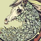 Beautiful Horse Old by Diego Verhagen