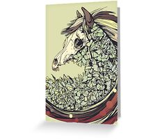Beautiful Horse Old Greeting Card