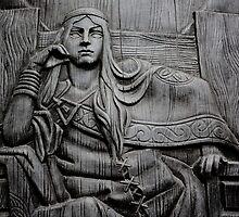 Queen Mebd (Maeve) by John Darren Sutton