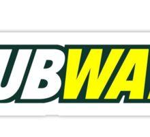 Wubway logo Sticker