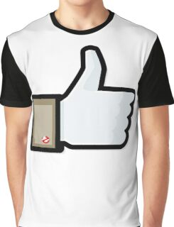 FACEBOOK X GHOSTBUSTERS (GB1) Graphic T-Shirt