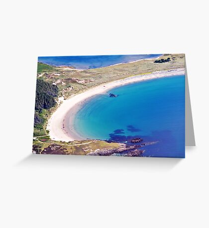 Silver Bay Beach Greeting Card