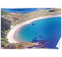 Silver Bay Beach Poster