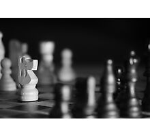 Chess Game - Your Move Photographic Print