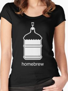 Craft Beer Homebrewing Icon Women's Fitted Scoop T-Shirt
