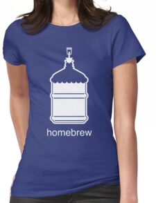 Craft Beer Homebrewing Icon Womens Fitted T-Shirt