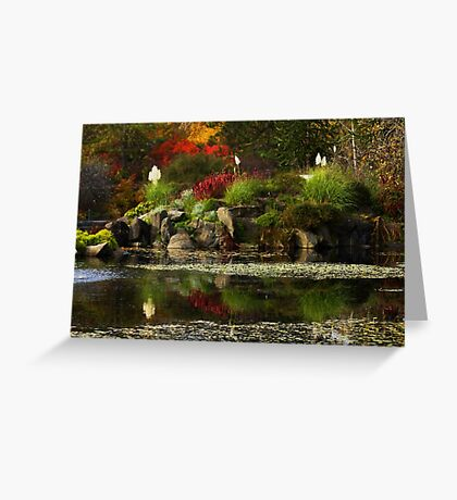 VanDusen Gardens Greeting Card
