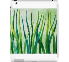 Watercolor Grass iPad Case/Skin