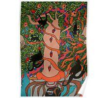 Mayan Tree of Life Poster