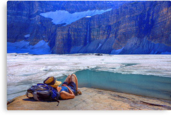 On Glacial Time - Grinnell Glacier by JamesA1