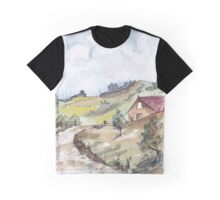 A farmhouse in Magaliesburg Graphic T-Shirt