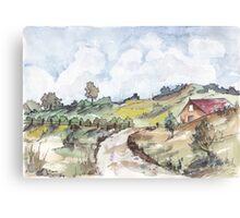 A farmhouse in Magaliesburg Canvas Print