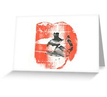 Lipstick n' Leather Greeting Card