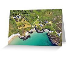 Rugged Bay Greeting Card